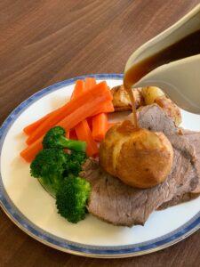 Sunday roast from Langan's